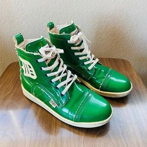 Buffalo Brand High-Top Sneakers, Made in Spain